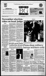 The BG News October 18, 1995