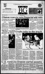 The BG News October 23, 1995