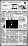 The BG News November 9, 1995