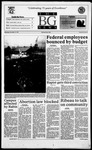 The BG News November 15, 1995