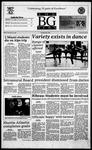 The BG News November 20, 1995