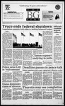 The BG News November 21, 1995