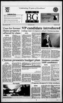 The BG News December 8, 1995