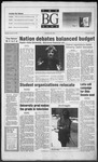 The BG News January 18, 1996