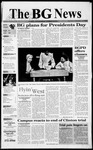 The BG News February 15, 1999