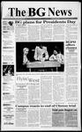 The BG News February 15, 1999