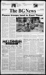 The BG News September 20, 1999