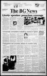 The BG News October 15, 1999