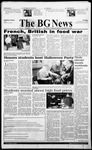 The BG News October 29, 1999