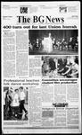 The BG News November 8, 1999