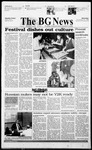 The BG News November 15, 1999