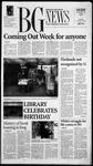 The BG News October 10, 2000