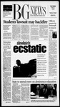 The BG News May 1, 2001