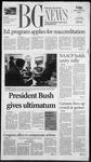 The BG News September 21, 2001