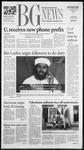 The BG News October 10, 2001
