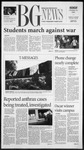The BG News October 15, 2001