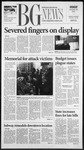 The BG News October 29, 2001