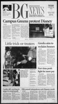 The BG News October 30, 2001