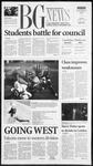 The BG News November 5, 2001