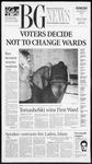 The BG News November 7, 2001