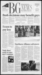 The BG News November 8, 2001