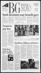 The BG News November 8, 2001