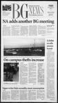 The BG News November 9, 2001