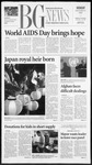 The BG News December 3, 2001