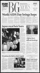 The BG News December 3, 2001