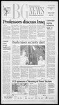 The BG News September 11, 2002