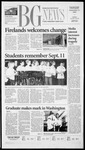 The BG News September 12, 2002