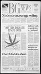 The BG News November 5, 2002