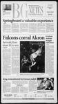 The BG News January 21, 2003