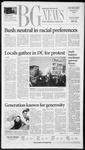 The BG News January 22, 2003