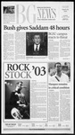 The BG News March 18, 2003
