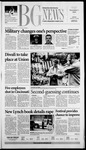 The BG News November 7, 2003