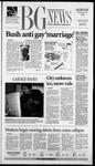 The BG News February 25, 2004