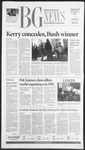 The BG News November 4, 2004