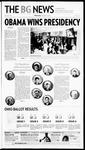 The BG News November 5, 2008