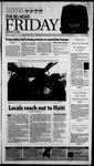 The BG News January 15, 2010