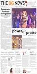 The BG News January 14, 2013