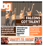 The BG News October 15, 2015