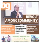 The BG News November 19, 2015