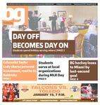 The BG News January 19, 2016