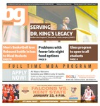 The BG News January 21, 2016