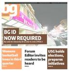 The BG News January 12, 2016