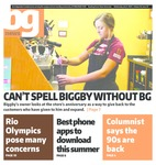 The BG News July 06, 2016