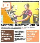The BG News July 06, 2016