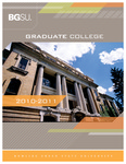 BGSU Graduate College 2010-2011 Catalog by Bowling Green State University
