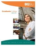 BGSU Graduate College 2008-2010 Catalog by Bowling Green State University